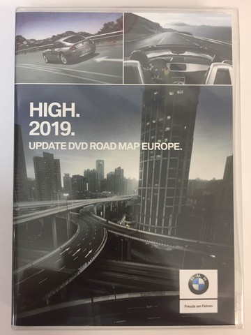 Bmw Navi Update High 2019 Road Map Europe Opel Dvd90
