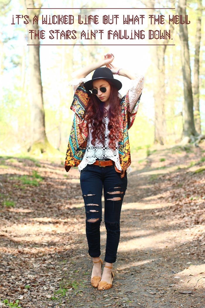 outfit crochet hippie chic rauschgiftengel. Black Bedroom Furniture Sets. Home Design Ideas