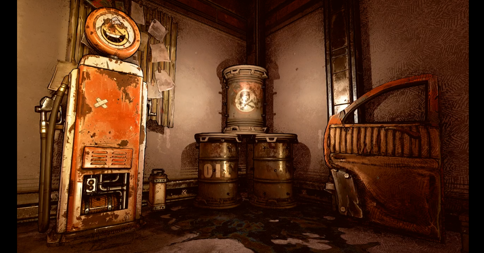 Borderlands 3 tech demo Twitch stream screenshots from