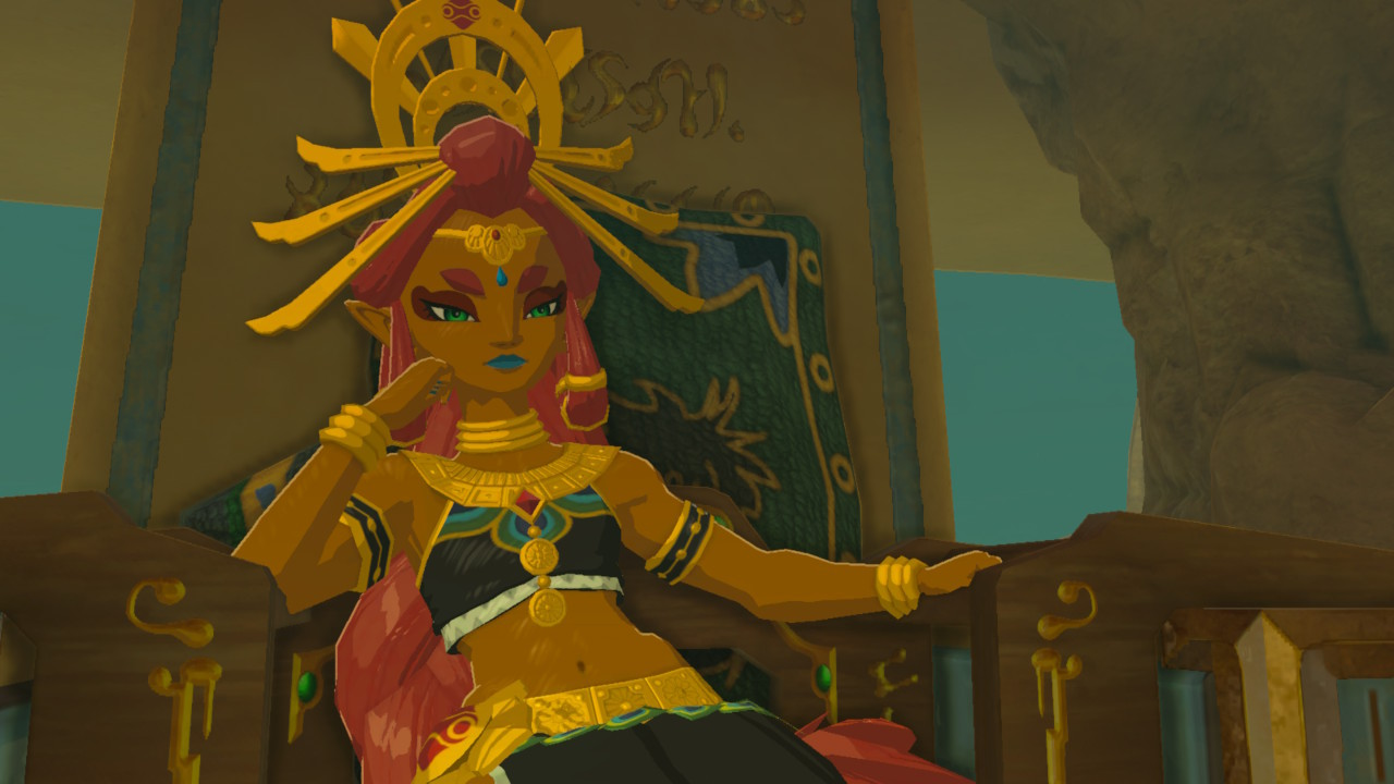 I love pretty much everything about the Gerudo in Breath ...