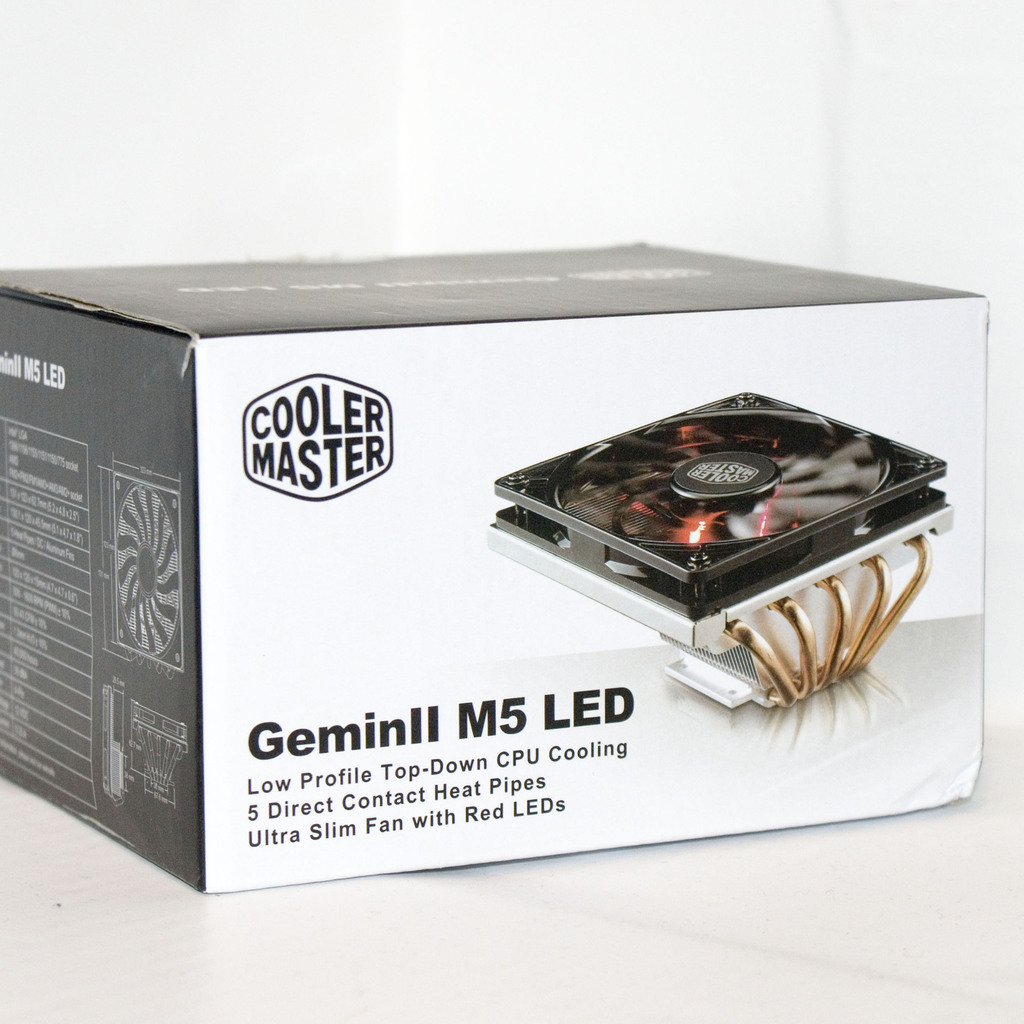User-Review] Cooler Master GeminII M5 LED - Leiser ITX Kühler mit ...