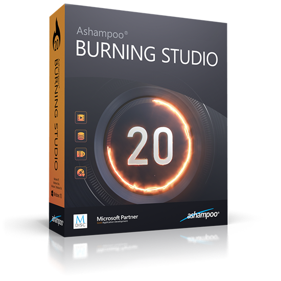 Ashampoo Burning Studio v20.0.1.3 + Portable