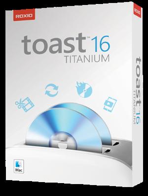 Roxio Toast Titanium v16.1 für MacOSX