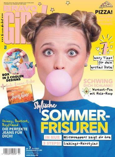 Cover: Bravo Girl! Jugendmagazin No 07 2021