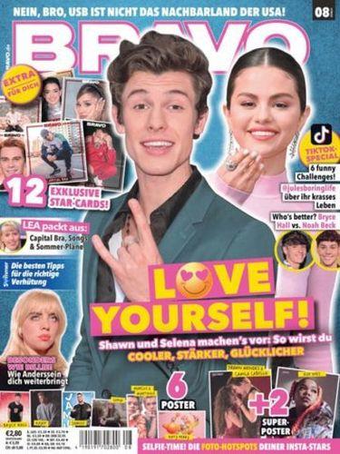Cover: Bravo Jugendmagazin No 08 vom 23  Juni 2021