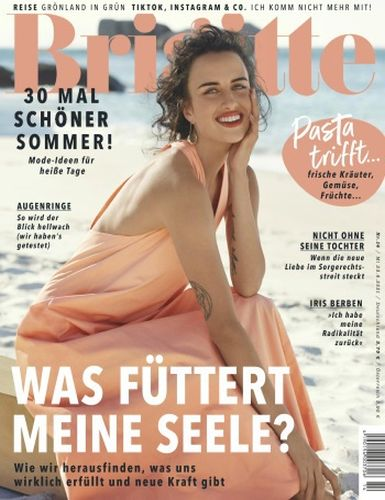 Cover: Brigitte Frauenmagazin No 14 vom 23  Juni 2021