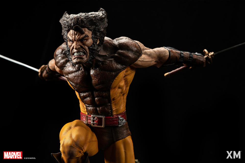 Premium Collectibles : Wolverine brown** - Page 2 Brownw01046j2w