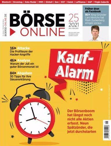 Cover: Börse Online Magazin No 25 vom 24  Juni 2021
