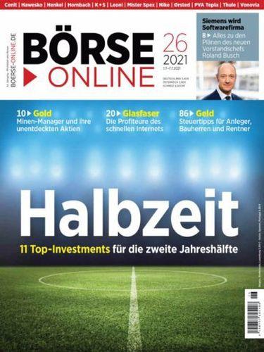 Cover: Börse Online Magazin No 26 vom 01  Juli 2021
