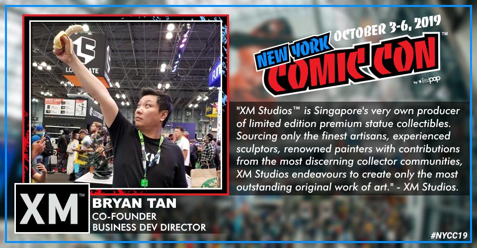 XM Studios: Coverage New York Comic Con 2019 - October 3rd to 6th  Bryannyccu0k5y