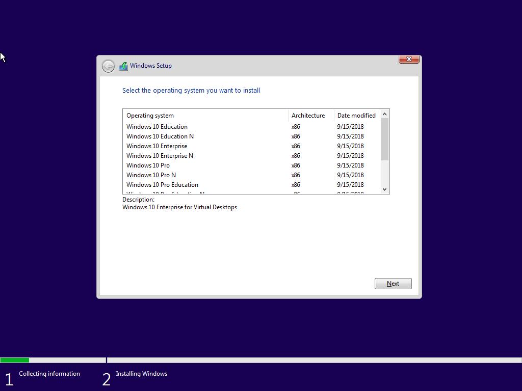 Windows 10 Redstone 5 - İngilizce (English) MSDN Final - Tüm Sürümler Tek Link
