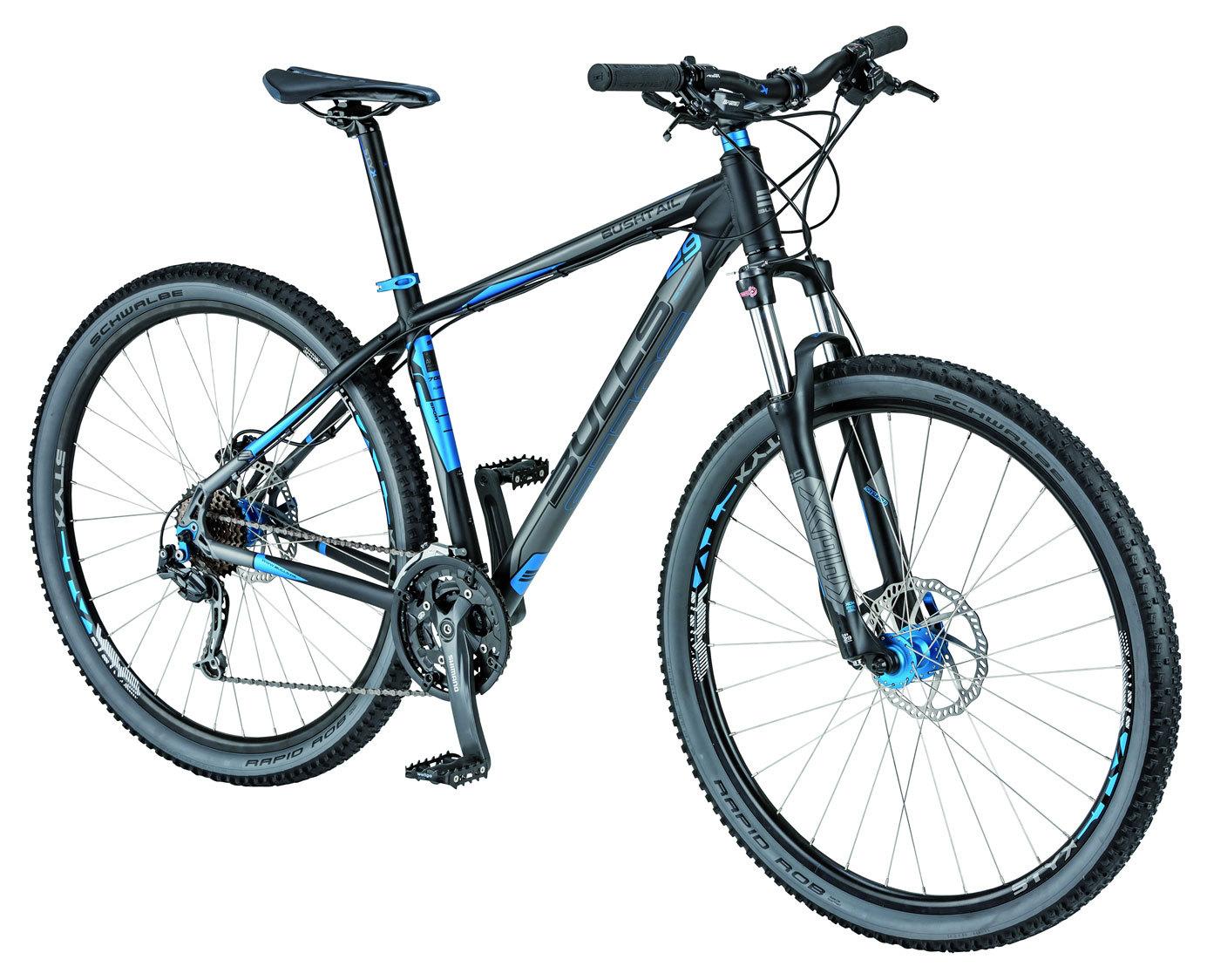 mountainbike bulls bushtail 29 zoll shimano deore 27 g fahrrad 41 cm schwarz ebay. Black Bedroom Furniture Sets. Home Design Ideas
