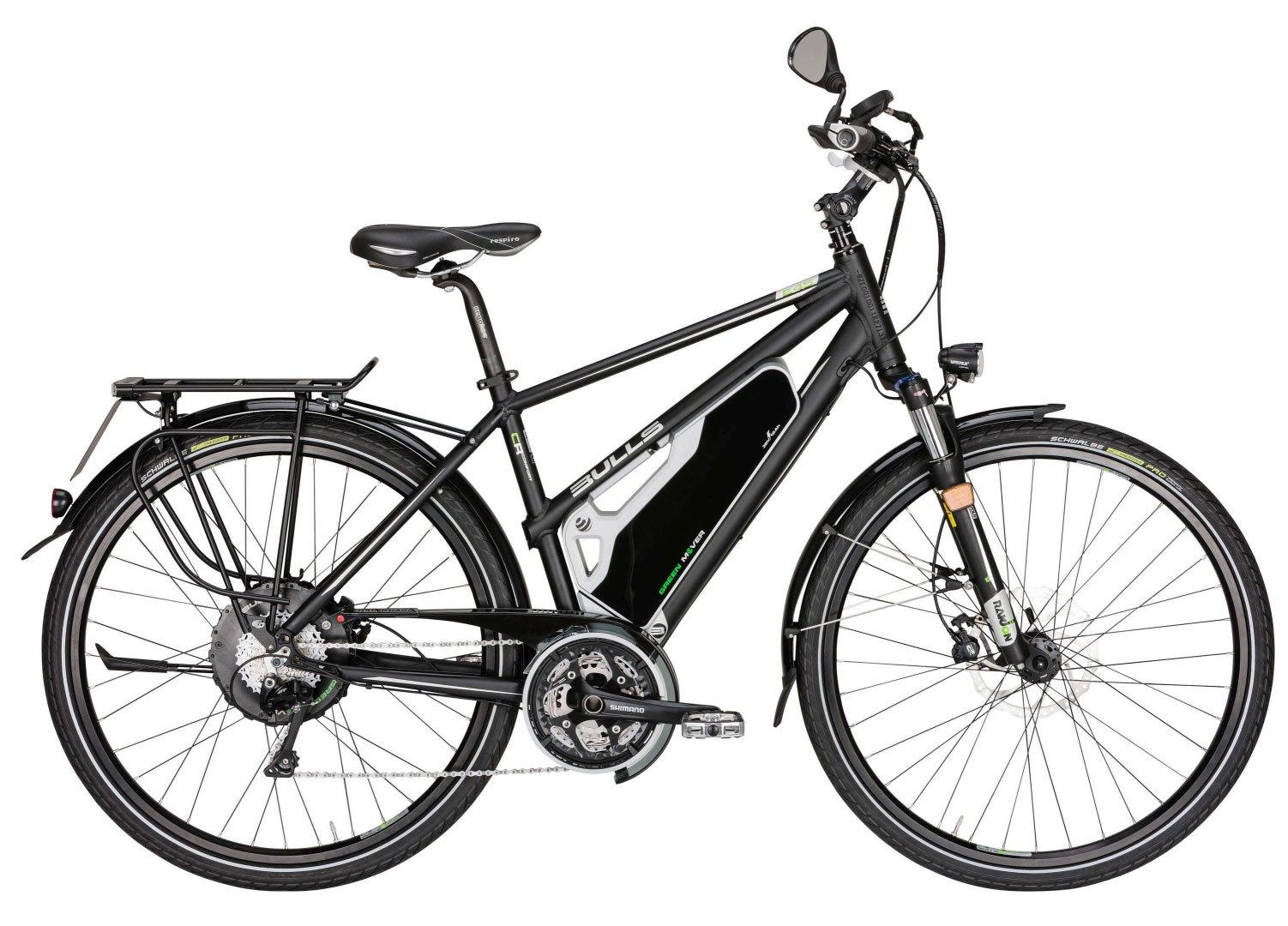 herren elektro fahrrad bulls green mover e45 e bike 45km h. Black Bedroom Furniture Sets. Home Design Ideas