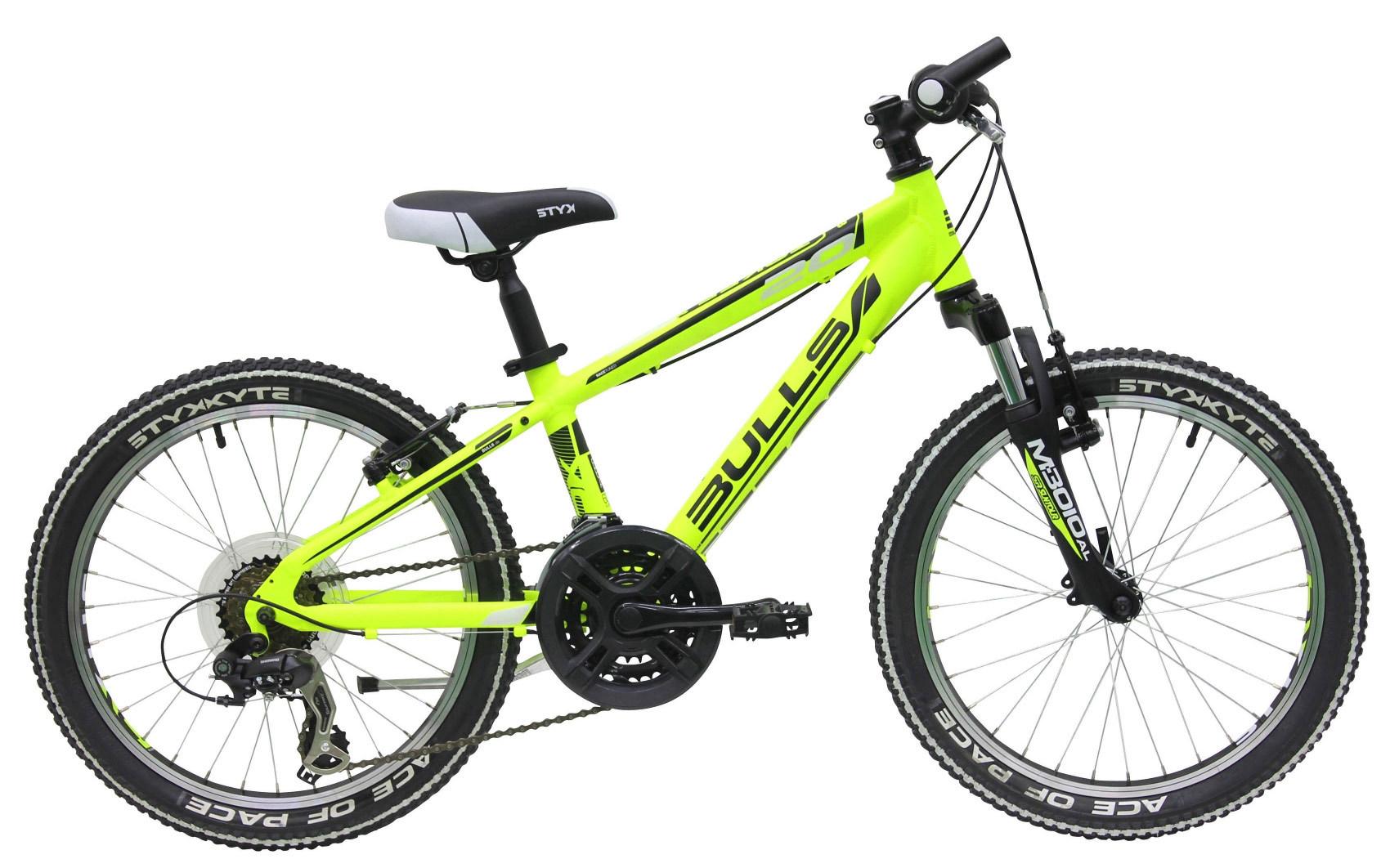 jugend mountainbike fahrrad bulls tokee 24 zoll shimano neon gelb 32 cm 2015 ebay. Black Bedroom Furniture Sets. Home Design Ideas