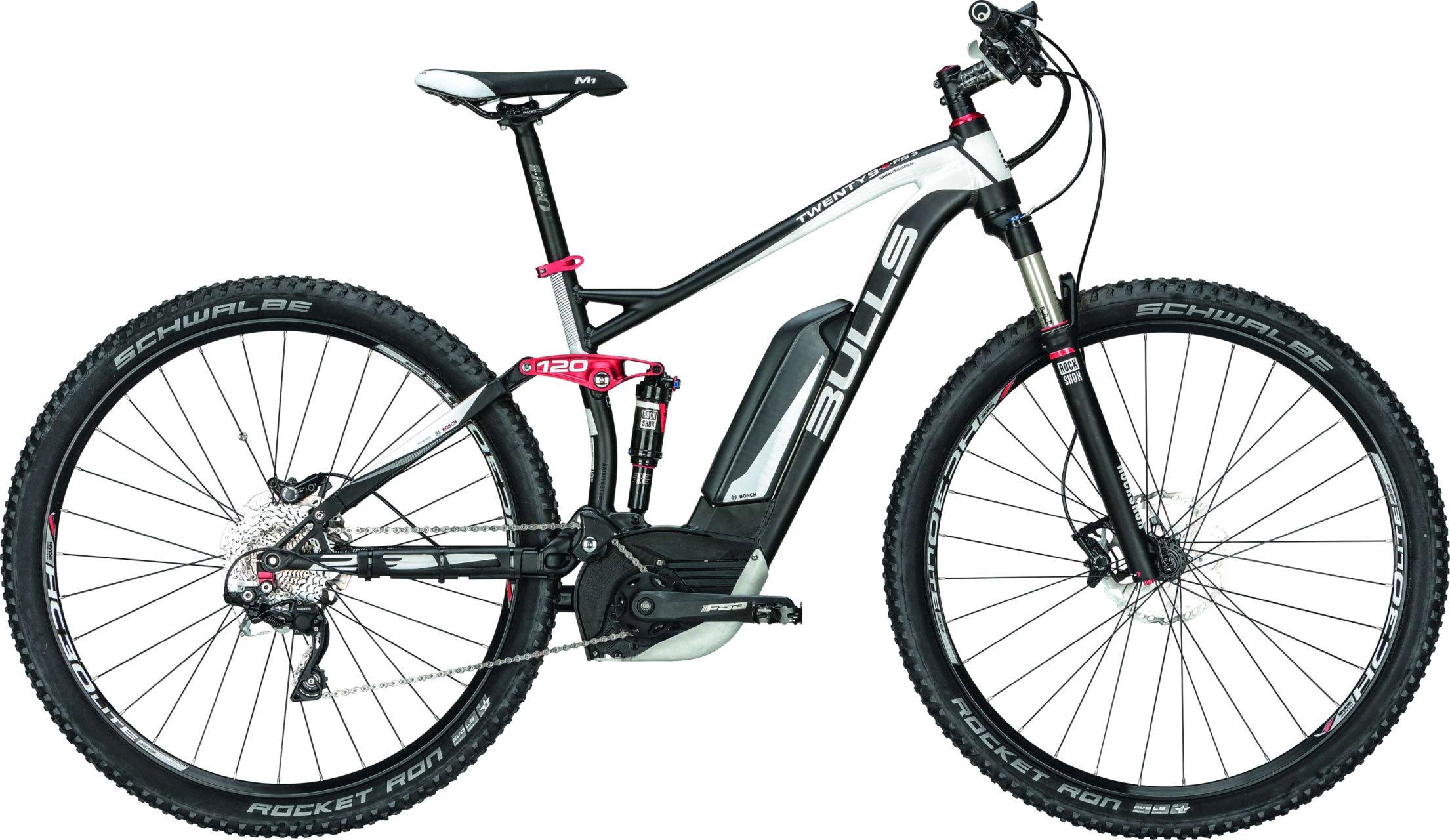 electric bicycle bulls twenty9 e fs 3 shimano bosch e bike. Black Bedroom Furniture Sets. Home Design Ideas