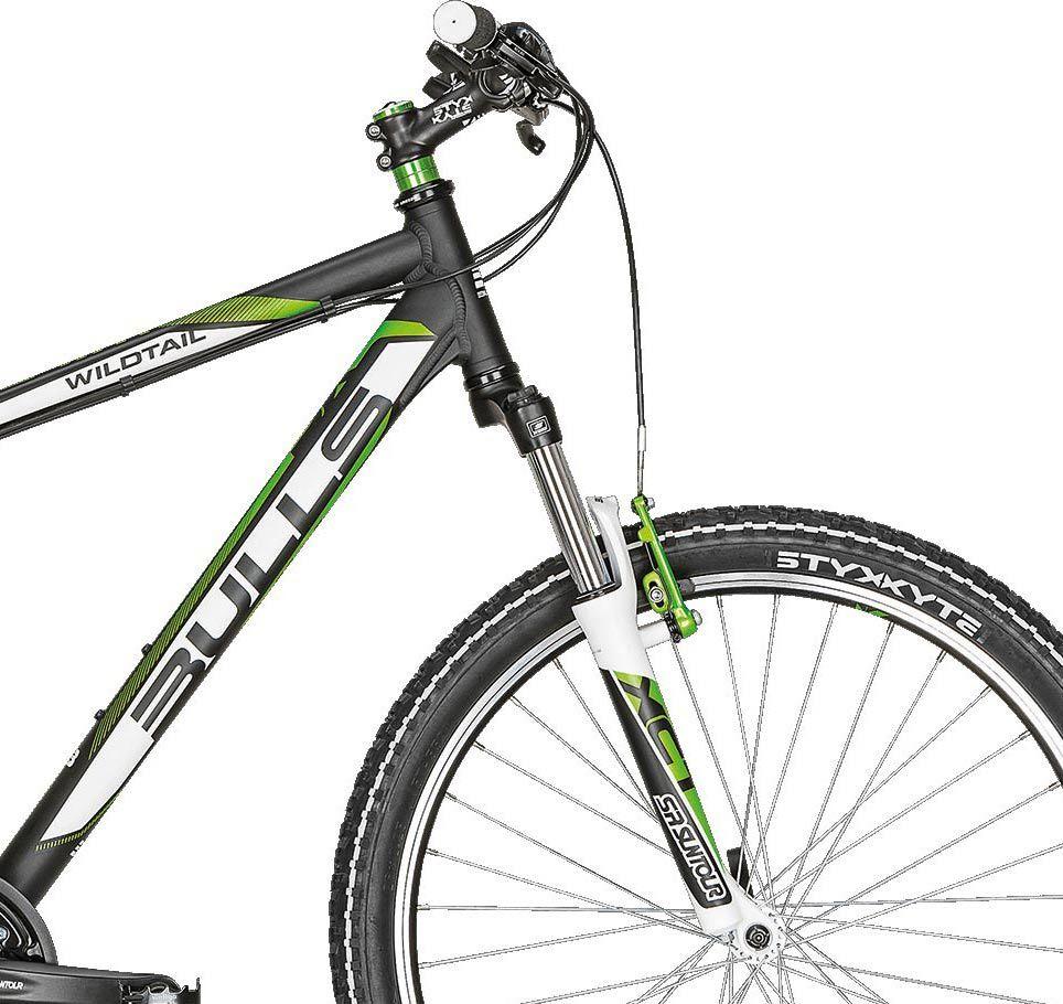 mountainbike bulls wildtail fahrrad 26 zoll shimano 21 g. Black Bedroom Furniture Sets. Home Design Ideas