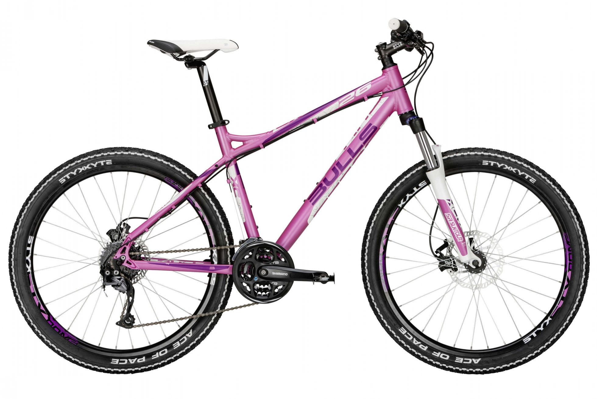 damen mountainbike bulls zarena 26 zoll shimano 24 g pink. Black Bedroom Furniture Sets. Home Design Ideas
