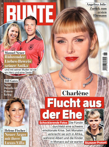 Cover: Bunte Magazin No 26 vom 24  Juni 2021