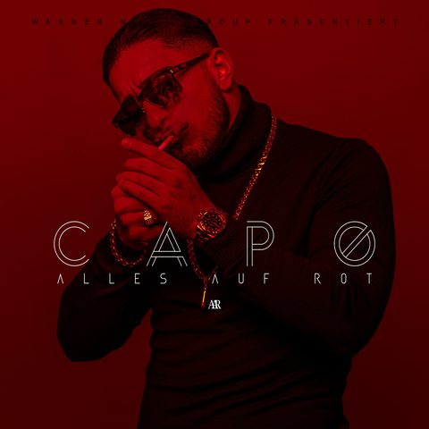 Cover: Capo - Alles auf Rot (2017)