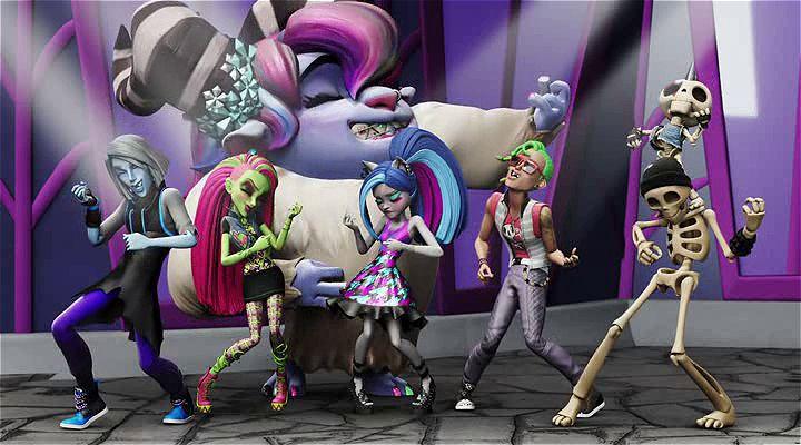 Monster High: Elektrik Akımı Ekran Görüntüsü 2