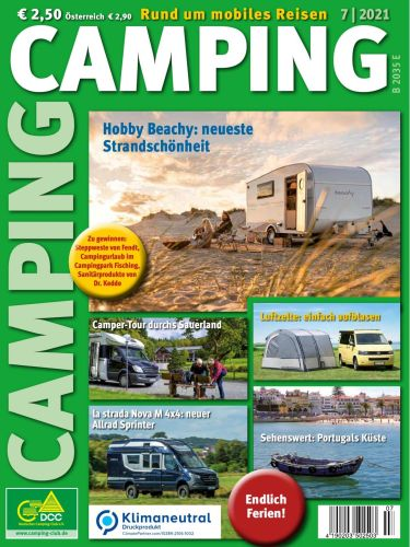 Cover: Camping Magazin Juli No 07 2021