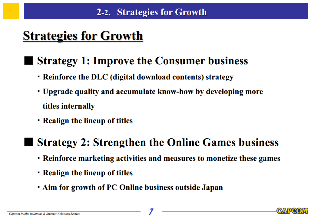 Capcom shares 2014 strategy, planning more online-only games a la