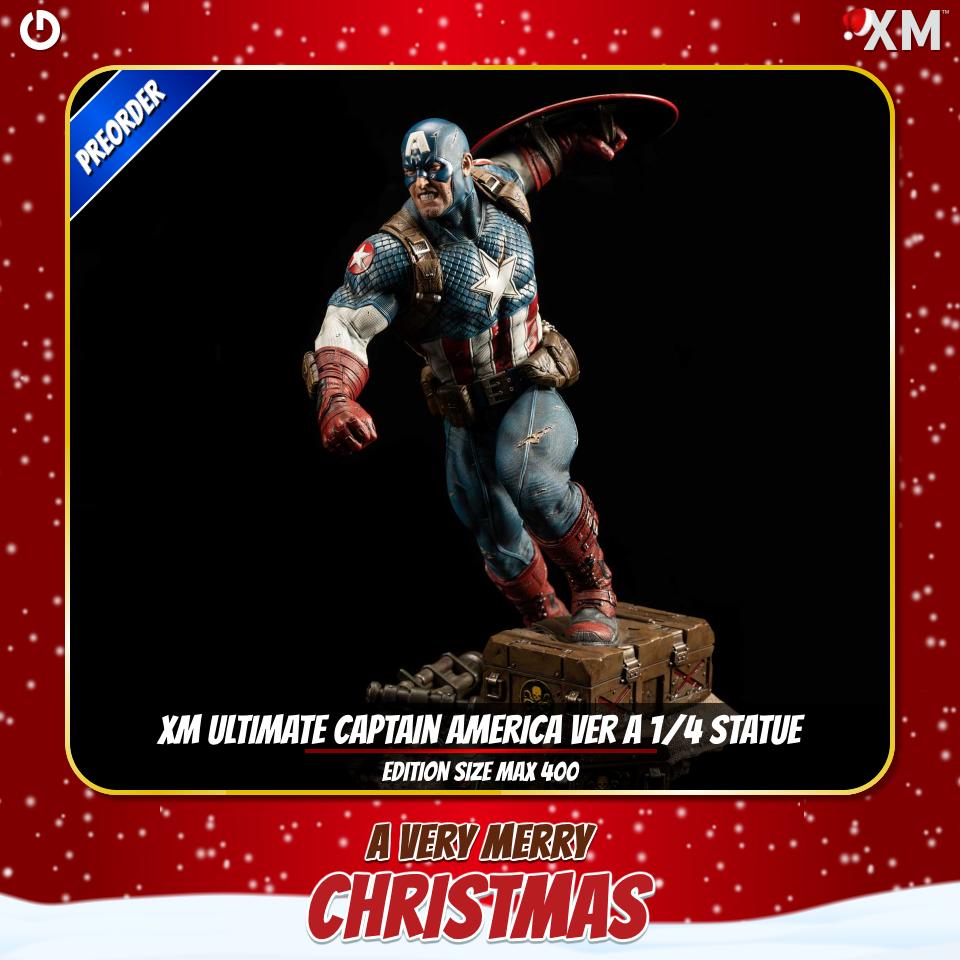 XM Studios: Christmas 2020 Captainamericavera9djtw