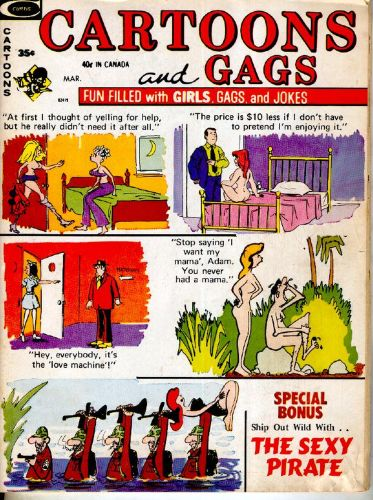 Cover: Cartoons and Gags -Vol-20-No-2-Mar-1973