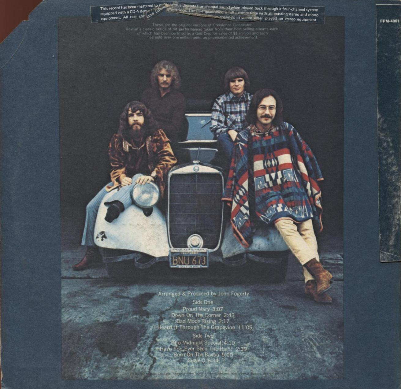 Rock] CCR - Creedence Clearwater Revival 1972 Creedence Gold