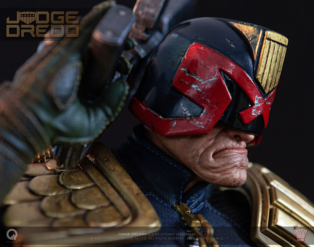 """1//6 Scale Custom Resin Judge Dredd Arms Gauntlet for 12/"""" action figure use"""