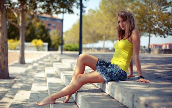 ножки на улицах фото