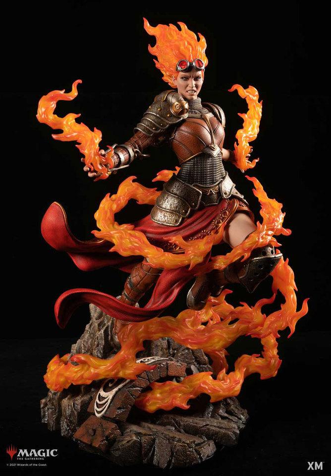 Premium Collectibles : MTG - Chandra Nalaar 1/4 Statue Chandra_000b8ake3