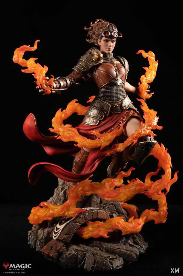 Premium Collectibles : MTG - Chandra Nalaar 1/4 Statue Chandra_000jfjzo