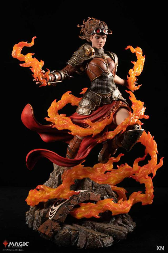 Premium Collectibles : MTG - Chandra Nalaar 1/4 Statue Chandra_000nykfe