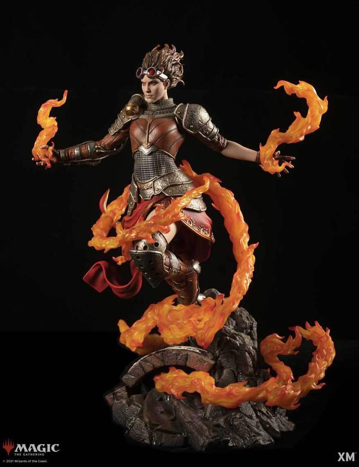 Premium Collectibles : MTG - Chandra Nalaar 1/4 Statue Chandra_002hzk43