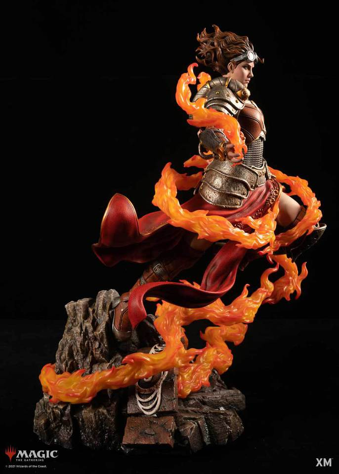 Premium Collectibles : MTG - Chandra Nalaar 1/4 Statue Chandra_005g7kcw