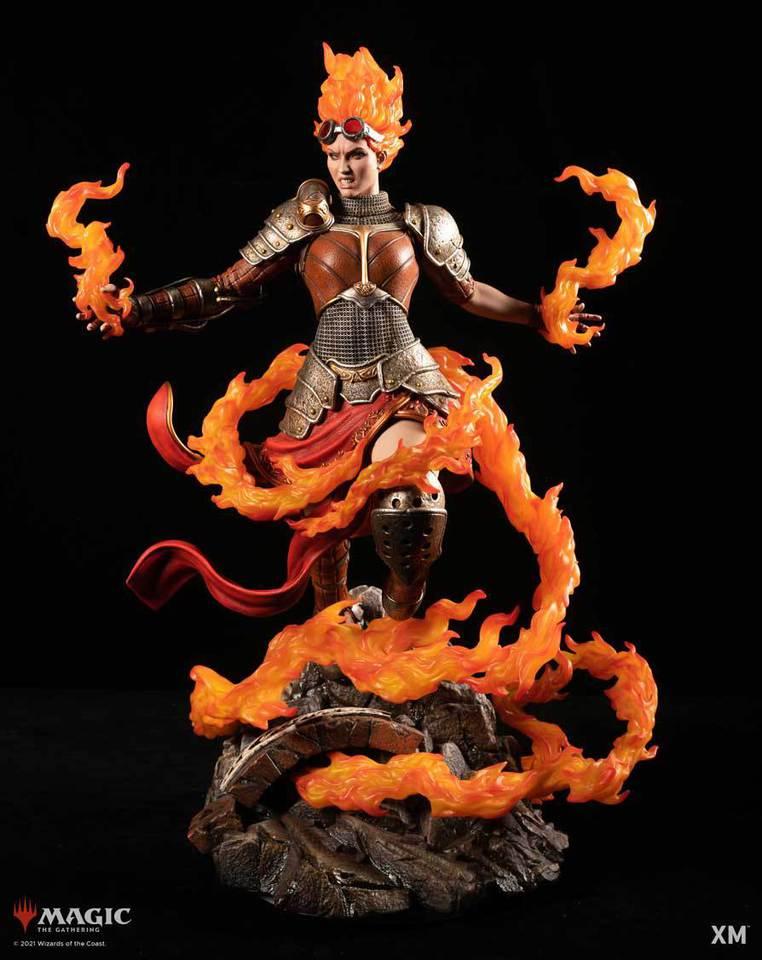 Premium Collectibles : MTG - Chandra Nalaar 1/4 Statue Chandra_01394jd8
