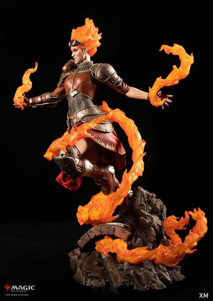 Premium Collectibles : MTG - Chandra Nalaar 1/4 Statue Chandra_0145ukto