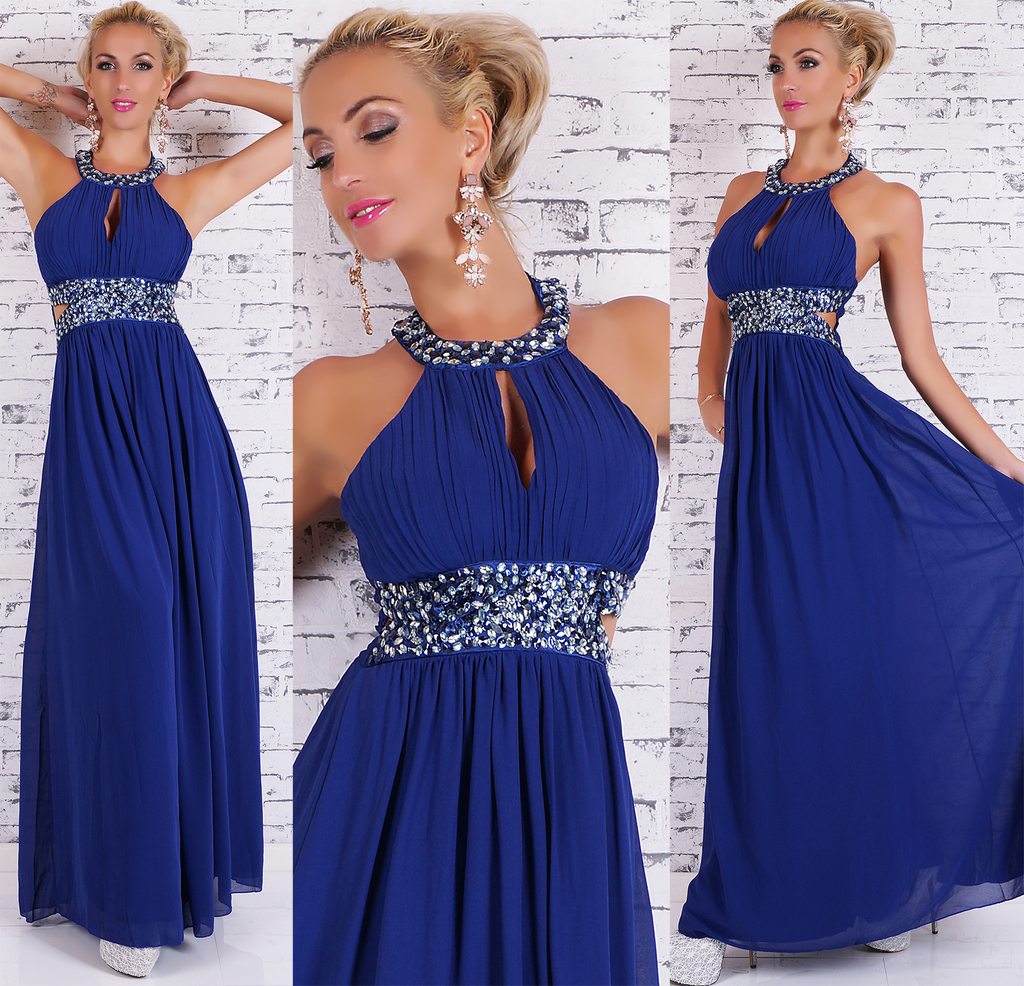SeXy MAXI KLEID DRESS Cocktailkleid Abendkleid 3 FARBEN Gr ...