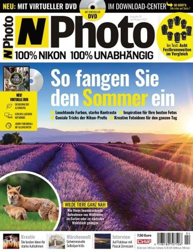 Cover: Chip N-Photo Magazin Juli-August No 04 2021