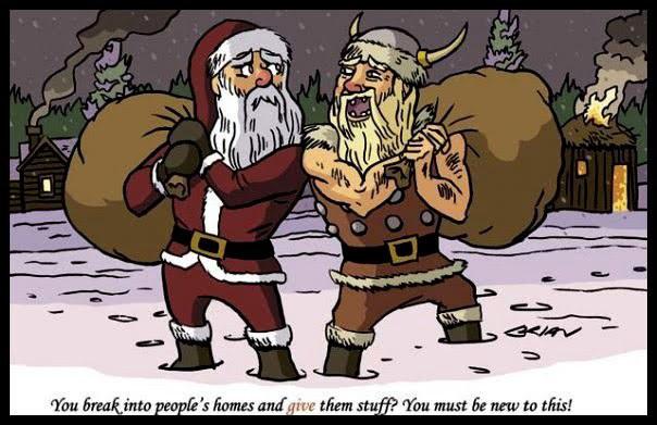Festtagsgruss Christmasvikingwqjku