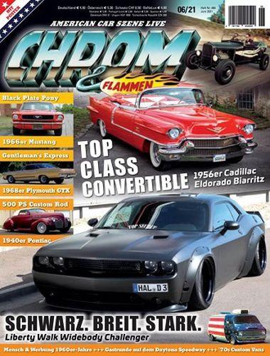 Cover: Chrom und Flammen Automagazin No 06 Juni 2021