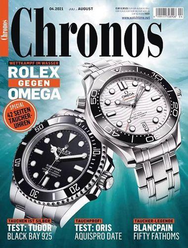 Cover: Chronos Uhrenmagazin No 04 Juli-August 2021