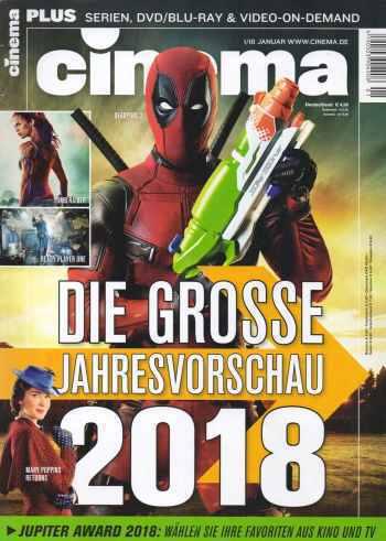 :  Cinema Kinomagazin No 01 2018