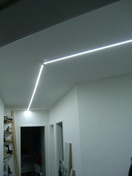 led panel f r flurbeleuchtung mit endlighten t www. Black Bedroom Furniture Sets. Home Design Ideas