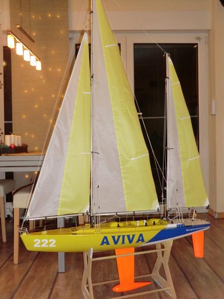 """Rennketsch """"Libera Ocean"""" von Graupner, Vorstellung und Revision Cimg2730hhqf5"""