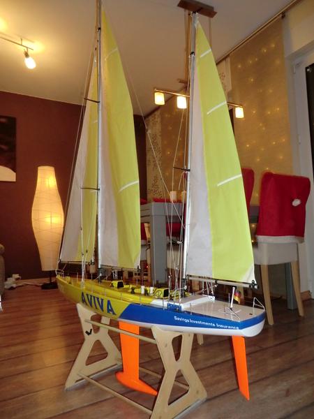 """Rennketsch """"Libera Ocean"""" von Graupner, Vorstellung und Revision Cimg2731lyp1v"""