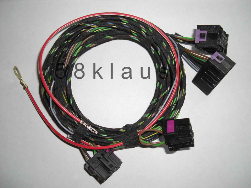 vw golf 4 mk4 iv bora passat seat heater heated seats adapter cable rh ebay com Toyota Wire Harness Connectors Nissan Harness Connectors