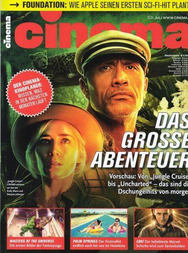 Cover: Cinema Kinomagazin Juli No 07 2021