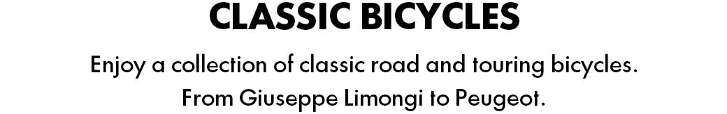 French classic and vintage road bikes